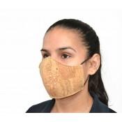 Máscara facial - cortiça