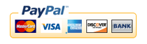 Visa, Visa Electron, MasterCard, MaestroCard e PayPal